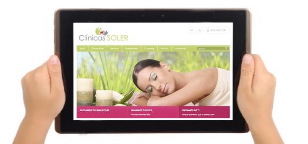 Clínicas SOLER tiene nueva web